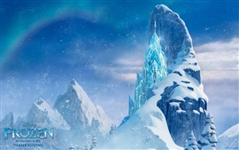 Preview wallpaper Frozen, beautiful Ice Castle