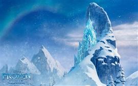 Frozen, hermoso castillo de hielo