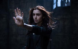 Preview wallpaper Lily Collins, The Mortal Instruments: City of Bones