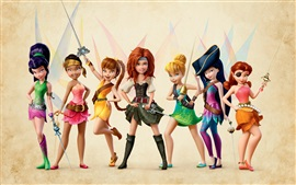 Preview wallpaper The Pirate Fairy, 2014 Disney movie, beautiful girls