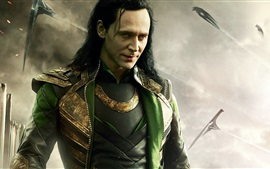 Preview wallpaper Thor: The Dark World, Tom Hiddleston, Loki