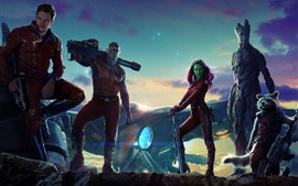 Preview wallpaper 2014 movie, Guardians of the Galaxy