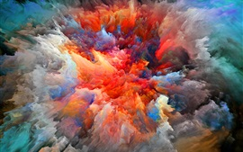 Abstract pictures, explosion, brightness, colors Wallpapers Pictures Photos Images