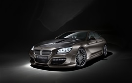 Preview wallpaper BMW M6 Coupe, Hamann car