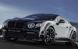 Bentley Continental GT оникс черный суперкар