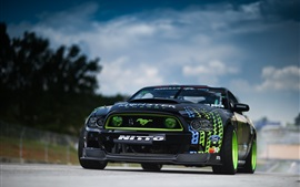 Preview wallpaper Ford Mustang RTR-X supercar, Formula Drift