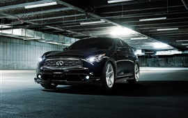 Infiniti FX35S Vossen black car