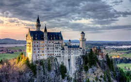 Preview wallpaper Neuschwanstein Castle, Bavaria, Germany