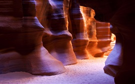 Antelope Canyon, Arizona, USA, red rocks