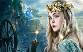 Preview wallpaper Elle Fanning, Maleficent
