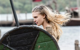 Preview wallpaper Gaia Weiss, Vikings