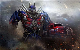 Preview wallpaper Optimus Prime, Transformers 4: Age of Extinction