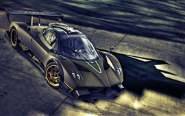Preview wallpaper Pagani Zonda R supercar
