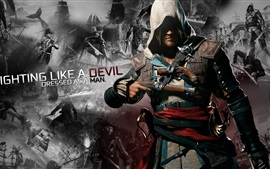 Preview wallpaper Assassin's Creed 4: Black Flag, game HD
