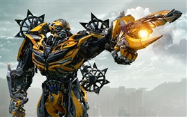 Preview wallpaper Bumblebee Transformers 4
