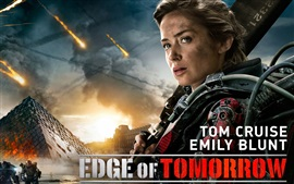 Preview wallpaper Emily Blunt in Edge of Tomorrow