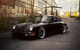 포르쉐 911 카레라 검은 차