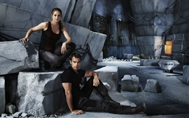 Preview wallpaper Shailene Woodley, Theo James, Divergent HD