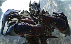 Preview wallpaper Transformers: Age of Extinction, Optimus Prime HD