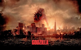 Preview wallpaper 2014 Godzilla