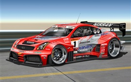 Preview wallpaper Infiniti G-Series G35 race car