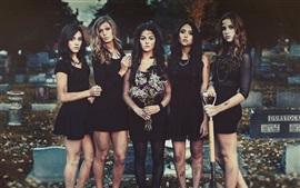Pretty Little Liars, quatro meninas bonitas