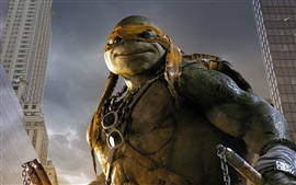 Preview wallpaper 2014 Teenage Mutant Ninja Turtles, Mikey