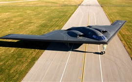 Preview wallpaper B-2 Spirit, bomber, airfield
