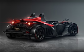 KTM X-Bow carro de corrida back view