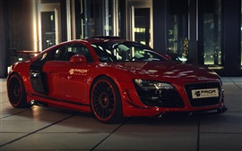 Preview wallpaper Audi R8 GT650 red color car