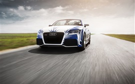 Preview wallpaper Audi TT car front view