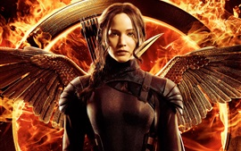 Preview wallpaper Jennifer Lawrence, The Hunger Games: Mockingjay, Part 1