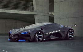 Preview wallpaper Lada Raver Raven Concept car