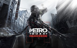 Preview wallpaper Metro 2033 Redux