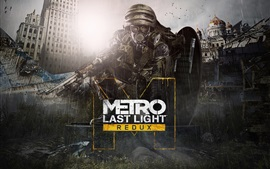 Preview wallpaper Metro: Last Light Redux