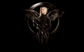 Preview wallpaper Natalie Dormer, The Hunger Games: Mockingjay, Part 1