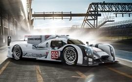 Porsche 919 гибридный суперкар 2014