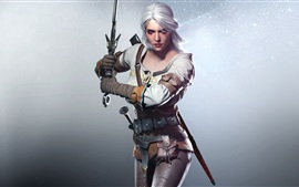 Aperçu fond d'écran The Witcher 3: Wild Hunt, belle fille