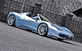 Preview wallpaper Ferrari 458 Spider car