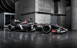 Preview wallpaper Sauber C33 F1 supercar, Swiss
