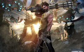 Preview wallpaper Serious Sam 4