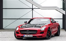 Preview wallpaper 2014 Mercedes-Benz SLS AMG GT-Final-Edition supercar