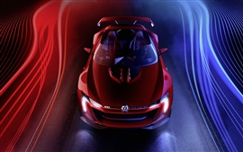 Preview wallpaper 2014 Volkswagen GTI Roadster Concept supercar