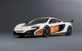 Preview wallpaper 2015 McLaren 650S Sprint white supercar
