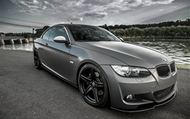 Preview wallpaper BMW E93 Coupe gray car