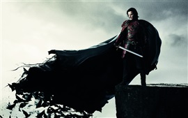 Preview wallpaper Dracula Untold 2014, Luke Evans