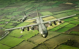 Preview wallpaper Hercules military transport aircraft C-130K