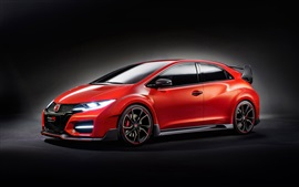Preview wallpaper 2014 Honda Civic Type R Concept car