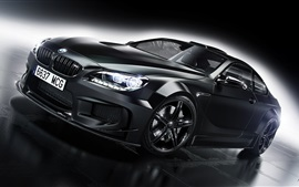 BMW M6 black car
