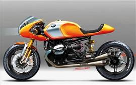 Preview wallpaper BMW concept 2013 motorbike